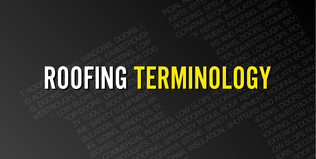 Roofing Terminology Banner Herman S Supply Company